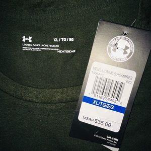 Under Armour Shirts - Under Armour OLIVE short sleeve men's shirt XL & M